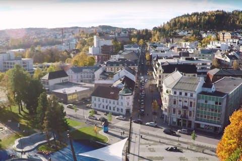 Gjøvik sentrum film