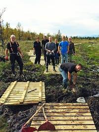 Valdres valdresregionen klopping sosialt samhold tur TurApp fjellet Oppland
