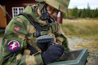 Cyberforsvaret Lillehammer. Foto: Forsvaret