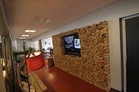 Vegg i ved i kontorfellesskapet 1724 i Vang i Valdres.