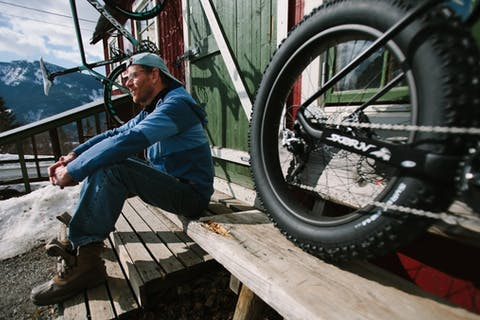 Wubbo Boiten sykkelbygger Valdres
