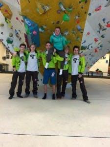 Norges Toppidrettsgymnas NTG klatring